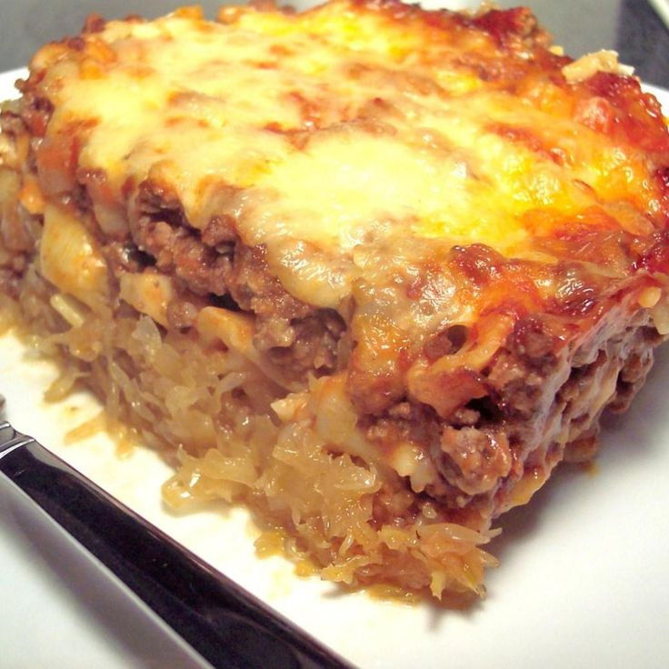 Sauerkraut Casserole  - I have been making this recipe for my family for years. My mom taught me and I taught my son. Even if you think you don't like sour kraut, you will LOVE this. The brown sugar makes it sweet. It is out of this world! Sour kraut naysayers give it a try.   Recipe is my own. Photo is from Lillian Russo trying it. She did amazing!