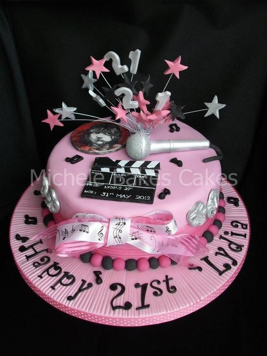 Music and Theatre Cake - Cake by MicheleBakesCakes ...
