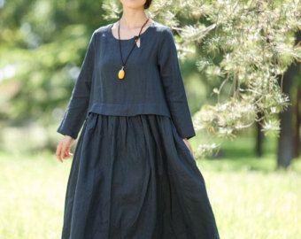Surdimensionné lâche raccord robe Maxi longue robe par deboy2000