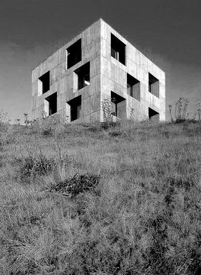 Pezo von Ellrichshausen // Poli House Cultural Center Coliumo peninsula, Chile.