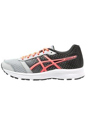 PATRIOT 8 - Obuwie do biegania Amortyzacja - silver grey/flash coral/black