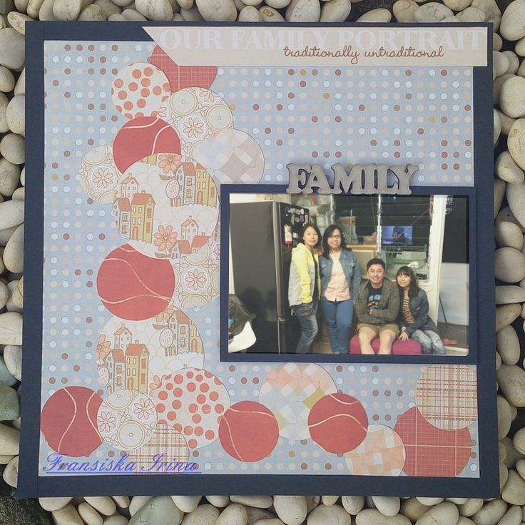 "12"" scrapbook layout using ""The Modern Meadow Stack"" for DCWV's June Challenge."