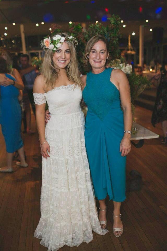 Grace Loves Lace Wedding dress Carla Zampatti Mother of the Bride dress Beach wedding