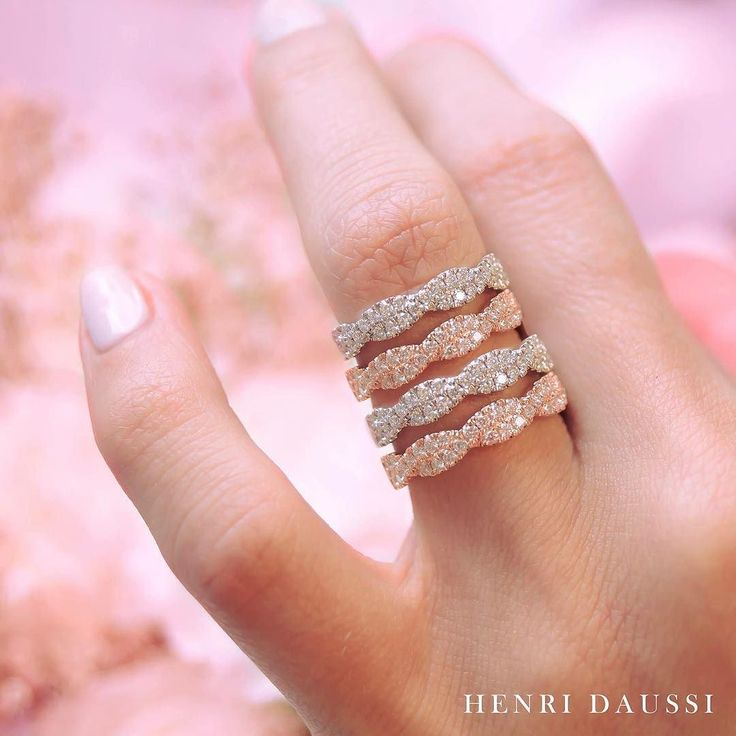 Sneak peek of our latest bands. Which one do you like the most? #henridaussi #ring #rings #glam #instaglam