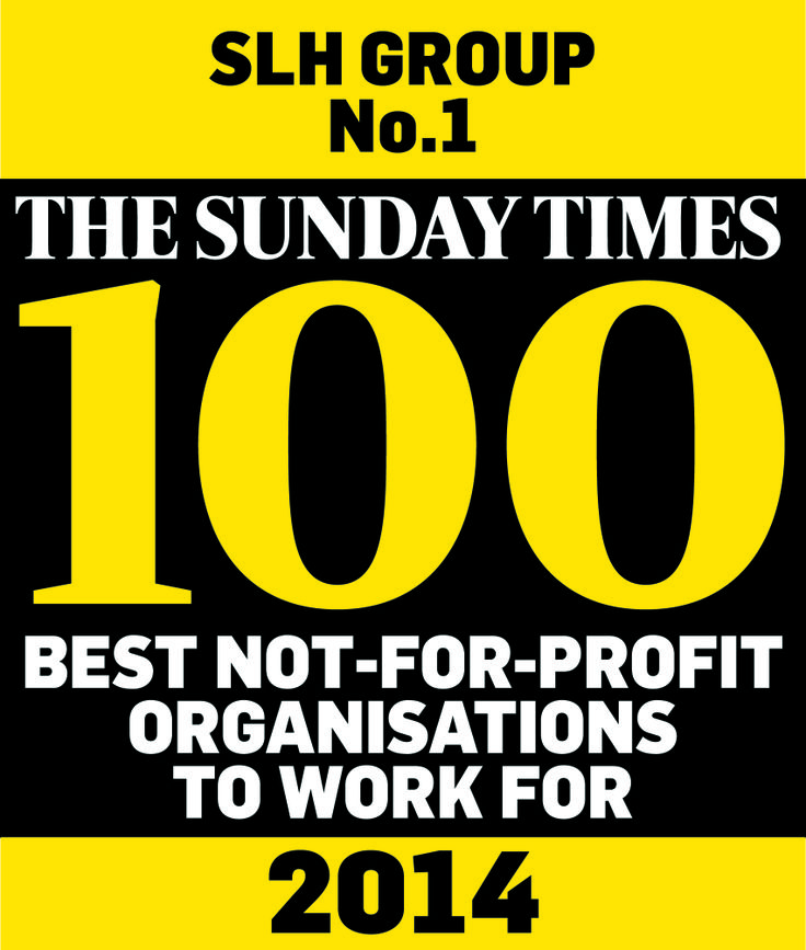 SLH was recently crowned #1 in The Sunday Times 100 Best Not-For-Profit Organisations to Work For #EveryPersonPositive