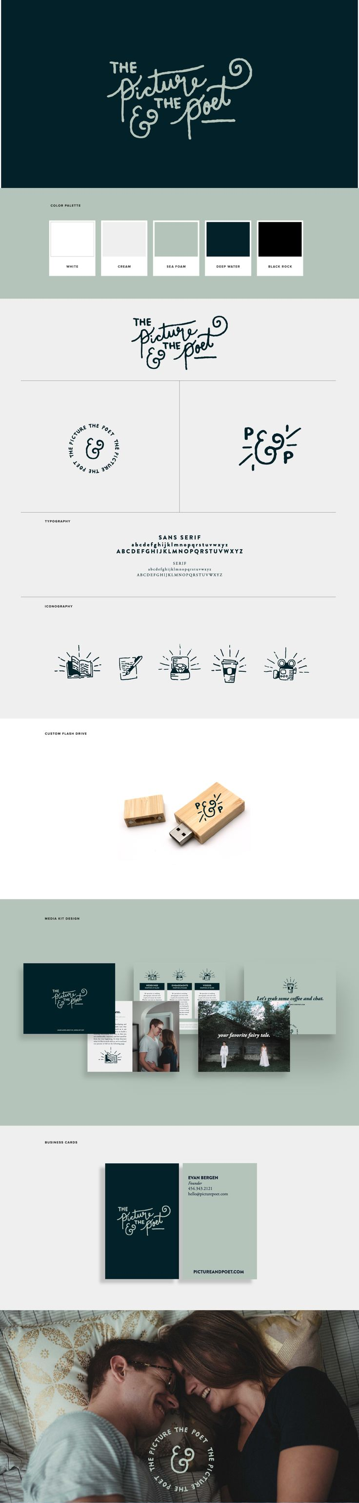 Wedding Photography Branding for The Picture & The Poet by Dynamo Ultima