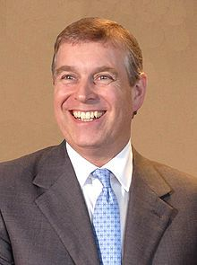 Prince Andrew, Duke of York (Born 1960). Son of Queen Elizabeth II and Prince Philip. He married Sarah Ferguson and had two daughters. They divorced in 1996.