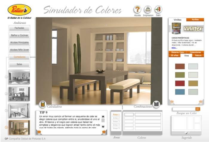 Simulador de Colores Pintuco