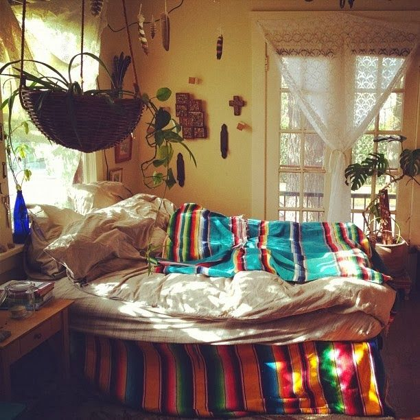 1000 images about hippie room on pinterest bohemian for Hippie bedroom designs