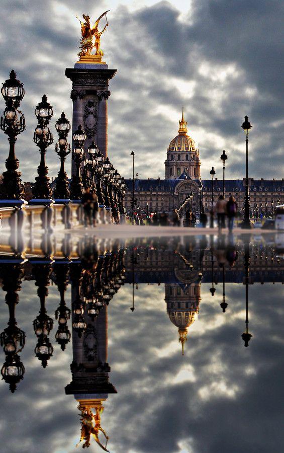 Paris reflection by les photos du seb #reflection