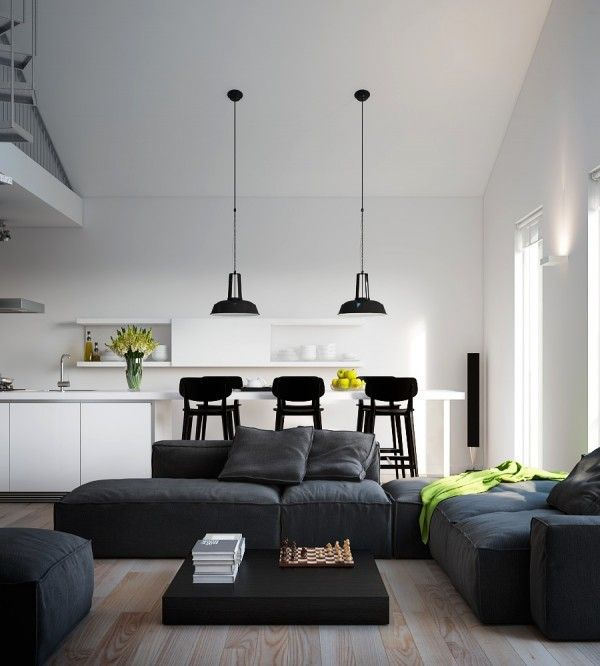 Visualizations modern apartments inspiring industrial lighting classic colors interior design light