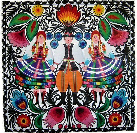 An Illustrator's Inspiration: Wycinanki; Polish paper-