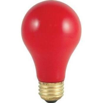 Bulbrite 106725 25A/CR Solid Ceramic Red Light Bulb