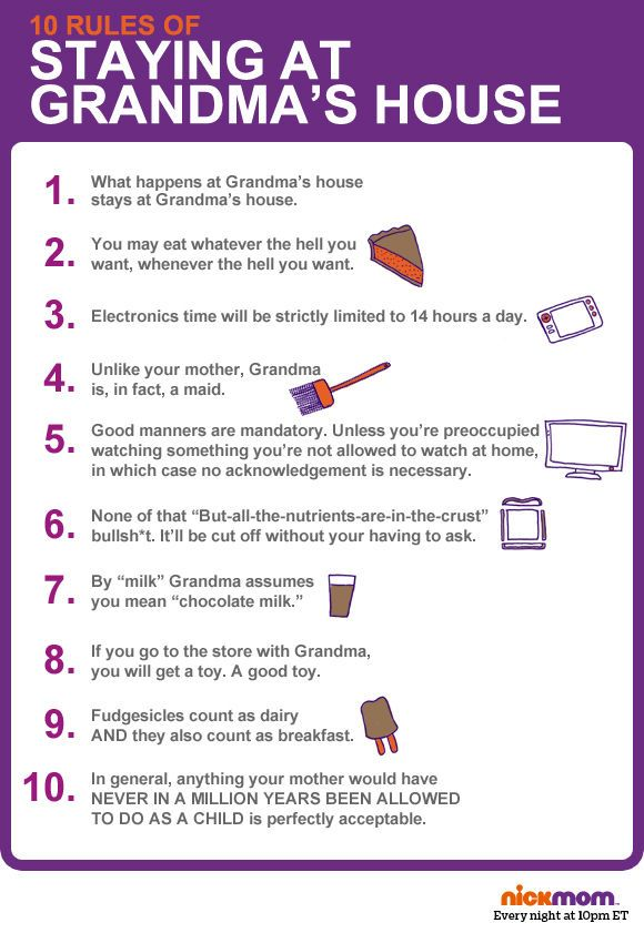 10 Kitchen And Home Decor Items Every 20 Something Needs: 10 Rules Of Staying At Grandmas House
