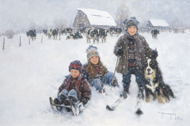 *Winter...Robert Duncan  Doesn't this remind you of Jon, James, Justin, and Snoopy?  @Annie Marie @Shari Curtis- Mortensen and @Sarah Kielman