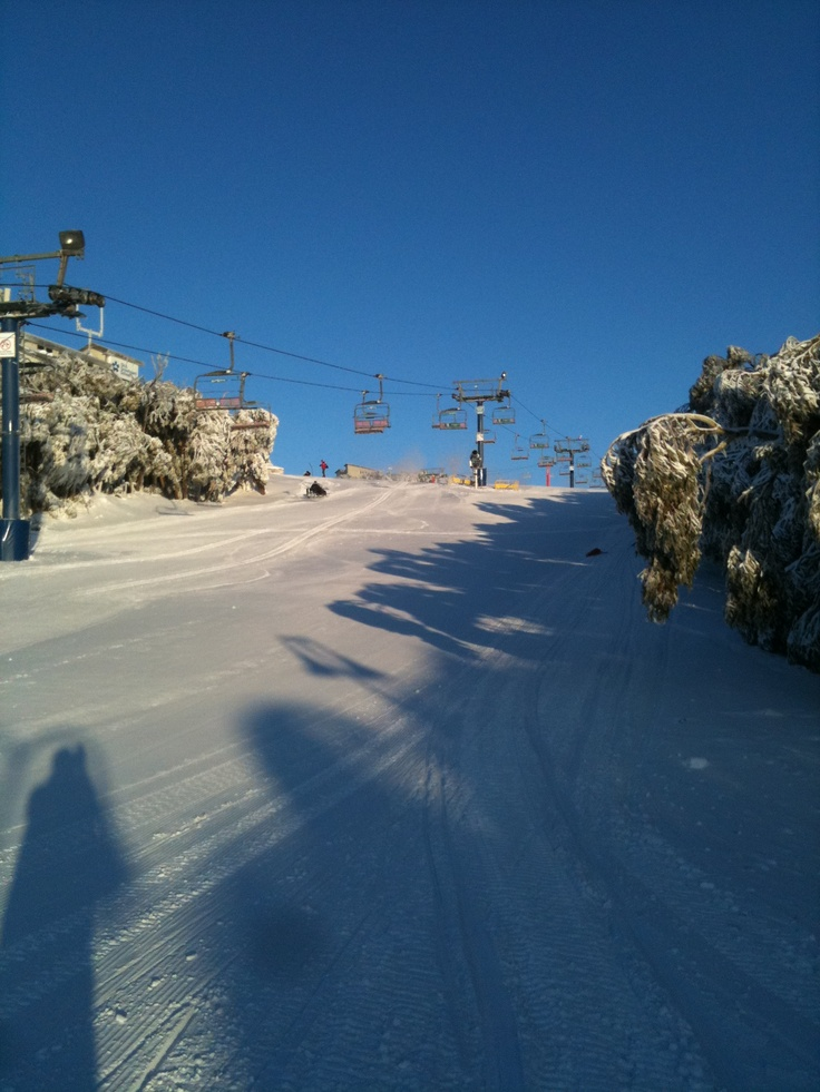 You know your in for a good day when you wake to this. Mt Buller 2011.
