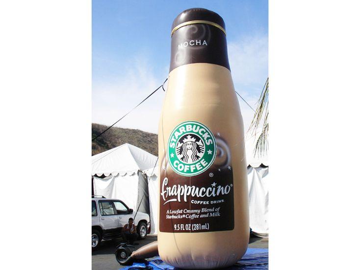 Botella Inflable De Starbucks -venta De Publicidad Inflable - Comprar Barato Precio De Botella Inflable De Starbucks - Fabrica Publicidad Inflable En México