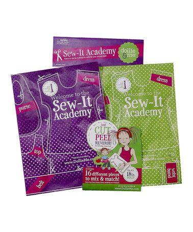 Look at this #zulilyfind! Sew It Academy 2 Sewing Kit by Dollie & Me #zulilyfinds