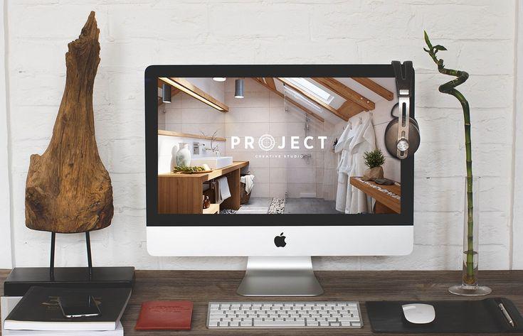 PROJECT / creative studio logo design on Behance