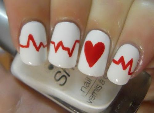 225 Best My Beating Heart Images On Pinterest: Best 25+ Cool Easy Nails Ideas On Pinterest