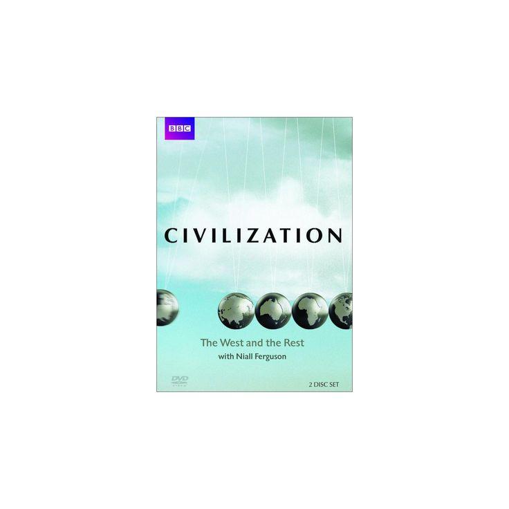 Civilization:West/Rest niall ferguson (Dvd)