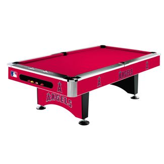 Los Angeles Angels 8' Pool Table