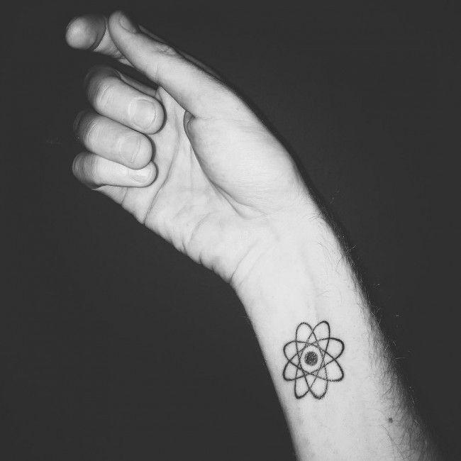 tatuagens Pequenas dicas atomos