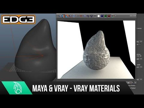 04 VRAY for Maya Rendering Tutorial Series for Beginners - Vray Materials - YouTube