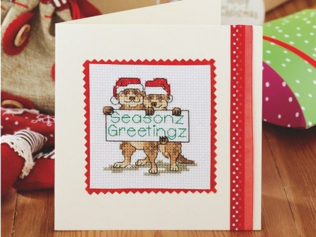 Have a very Meery Christmas! | Cross Stitching