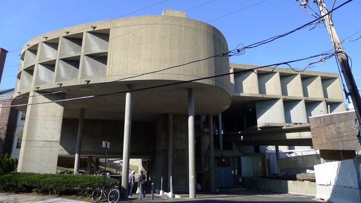 Карпентер-центр (культурный центр Гарвардского искусства) визуальных искусств в США, архитектор Ле Корбюзье  1959-1961гг