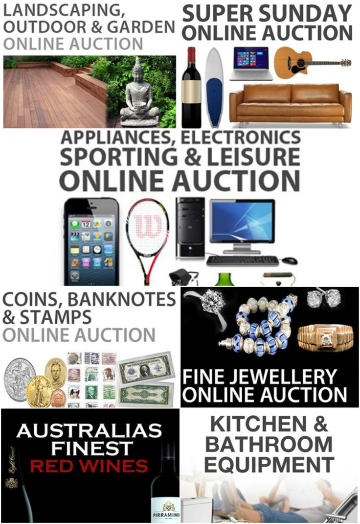 Check out whats on TODAY......  First Auction begins 10am!