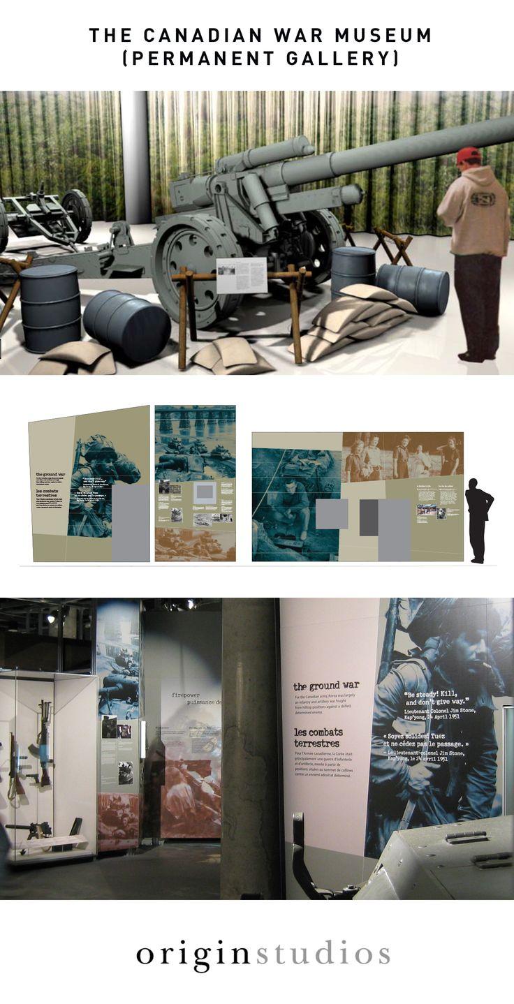 Permanent Exhibitions, Canadian War Museum, Exhibit Design Process by: Origin Studios