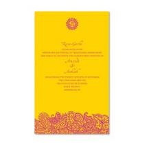 These Bombay Wedding Invitations Offer A Unique Way To Give Your Guests A  Colorful Eco  · Eco FriendlyWedding Invitations