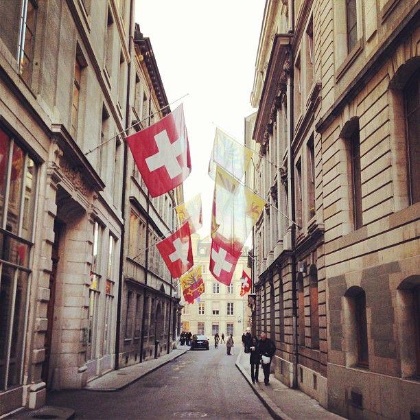 Vieille Ville / Old Town in Genf, Genf