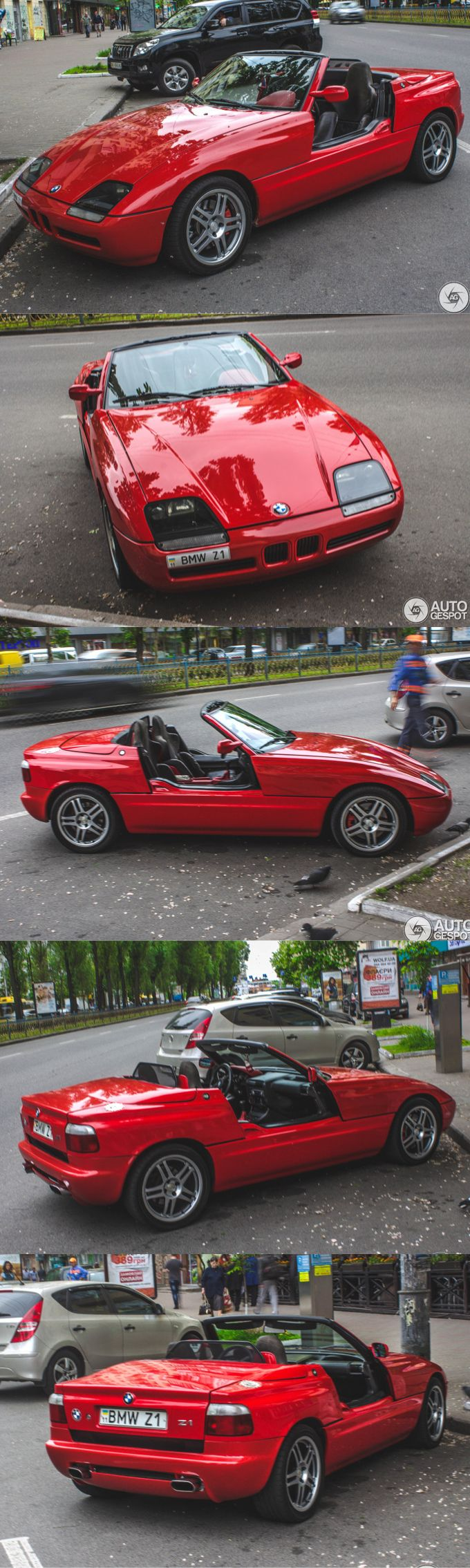 1989 BMW Z1 / Harm Lagaay / Germany / red