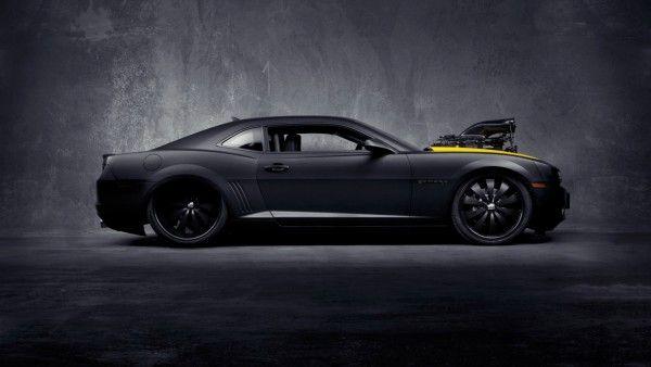 Chevrolet Camaro Black Concept - Desktop Wallpapers HD Free Backgrounds