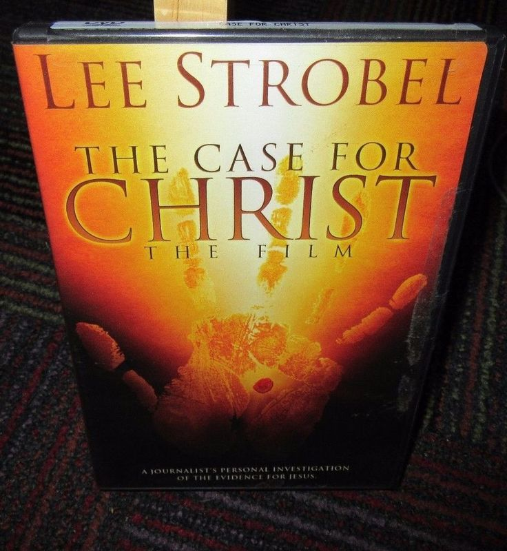 THE CASE FOR CHRIST DVD MOVIE BY LEE STROBEL, JOURNALIST PERSONAL INVESTIGATION