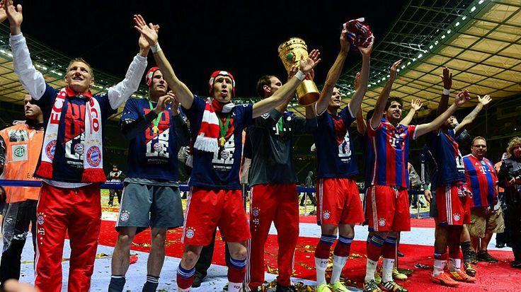 FC Bayern München DFB Pokal Finale 2014