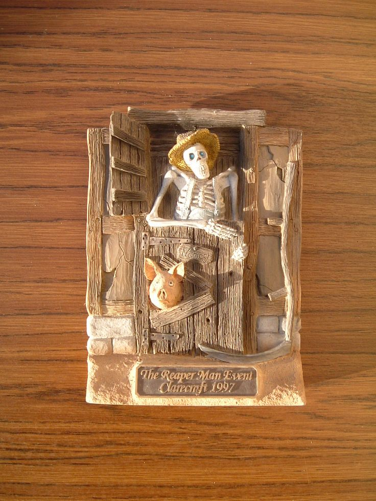 Death as Bill Door featuring Nancy the pig & 21 best Clarecraft - DiscWorld images on Pinterest | Figurines ... pezcame.com