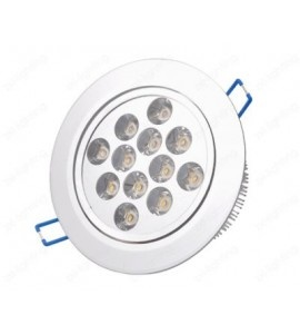 12W LED Recessed Ceiling Light Fixture