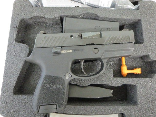 Used Sig Sauer P320 Sub Compact 9mm w/ night sights, extra magazine and case $495 - http://www.gungrove.com/used-sig-sauer-p320-sub-compact-9mm-w-night-sights-extra-magazine-and-case-495/