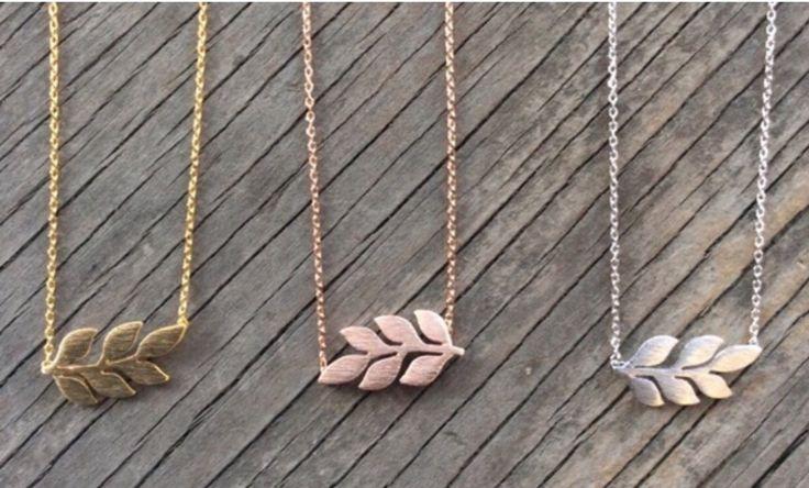 Laurel Leaf Necklace