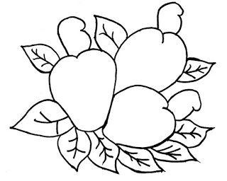 100 Desenhos de frutas para pintar, colorir, imprimir! Fruta para colorir | Jogos Online Wx