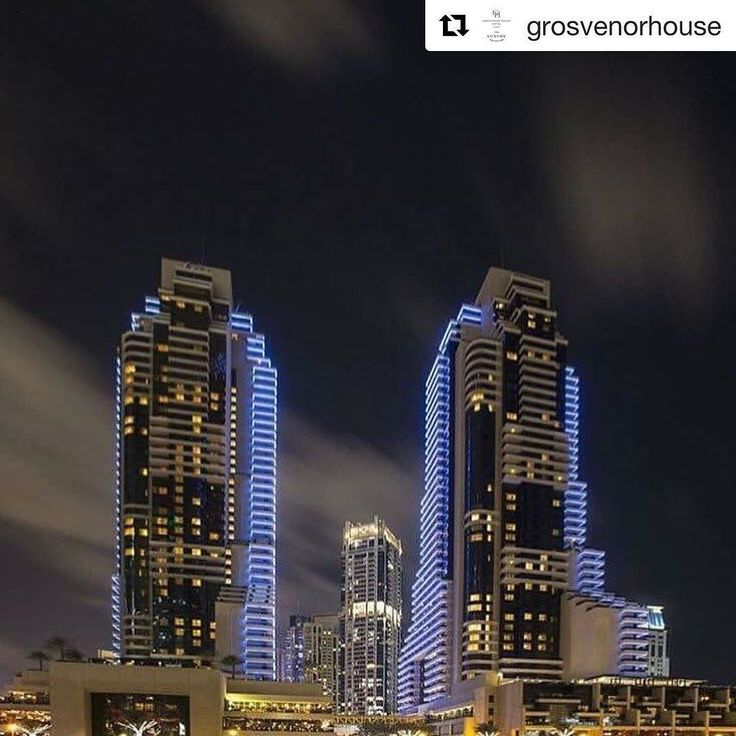 Today's #FollowFriday - the resplendent Grosvenor House and here's 3 reasons why you should #follow  the first hotel built in Dubai Marina and still one of the nicest in Dubai  they always treat you like a king  - especially if you're a #spg member  beguiling choice of top notch restaurants & bars including  @torotorodubai  @buddhabardubai & @siddhartaloungedubai  #spglife #dubaiblogger #luxurytravel #hotelblogger #cityguide #igpassport #instatravel #Repost @grosvenorhouse (@get_repost)  Our…