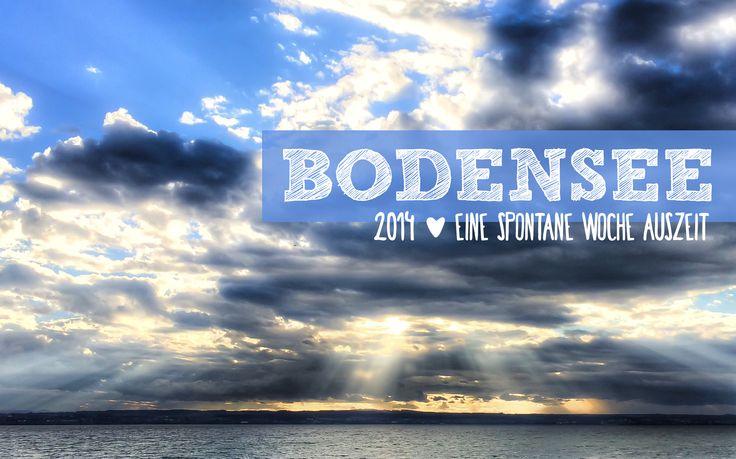 Bodensee im Herbst | ein Reisebericht über eine Woche Auszeit am Bodensee. Über Ausflugsziele, kulinarische Highlights und eine tolle Unterkunft.