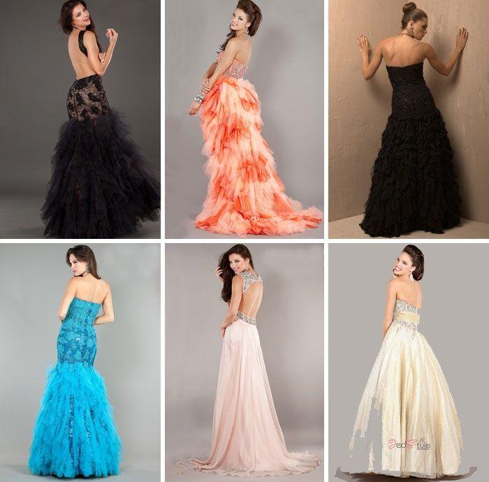 Платье с открытой спиной - подбираем элегантный наряд.