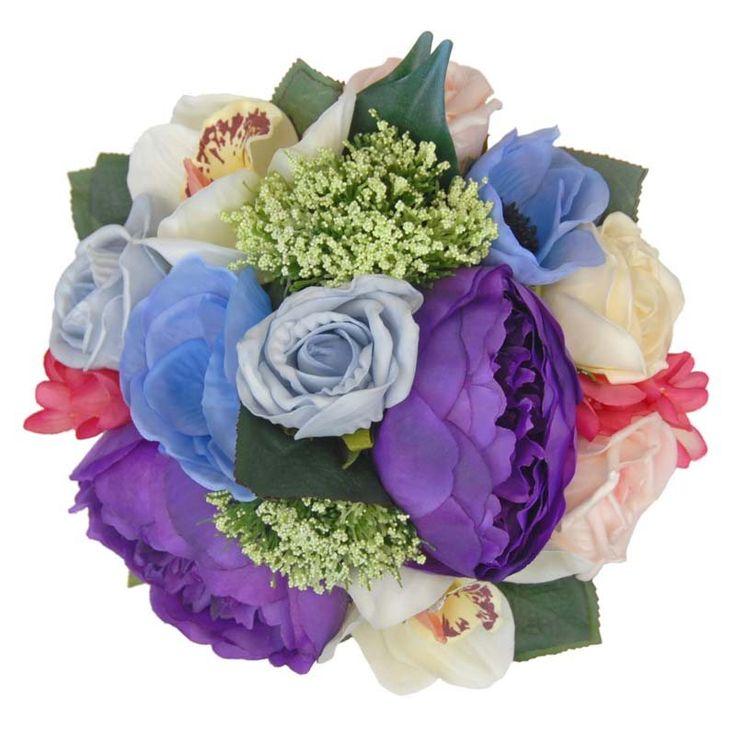 Cadbury Purple Silk Wedding Flowers : Best images about bridesmaids wedding posies on