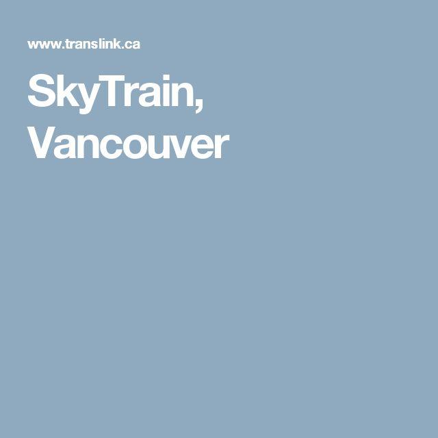 SkyTrain, Vancouver