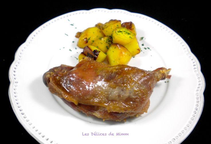 388 best cuisine canard images on pinterest diners - Confit de canard maison ...
