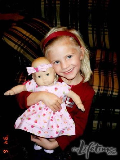 young paige with her doll dance moms pinterest